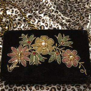 Small beaded purse
